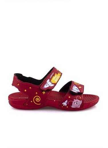 Ceyo E Kız Çocuk Sandalet Kırmızı